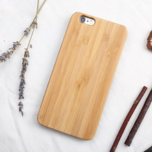 Stylish Shockproof Natural Wood Mobile Hard PC Material Phone case For iphone 8 8plus 7 7plus 6 6plus 6s