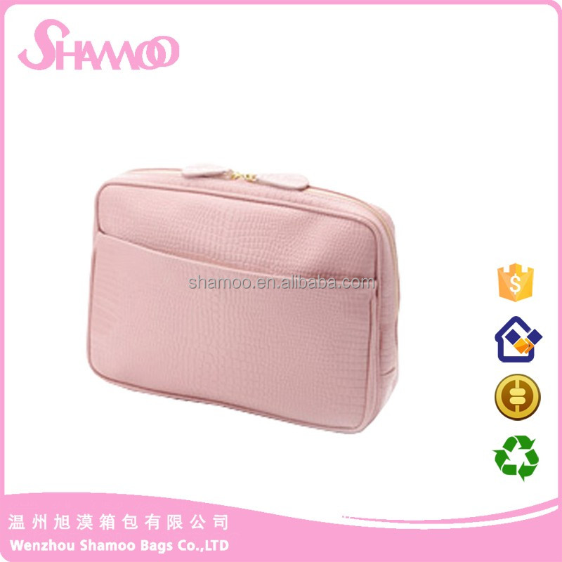 China supply Waterproof pu makeup beauty cosmetic bag pouch