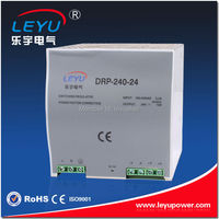 CE RoHS Approved DRP-240-24 DIN RAIL transformer 240W power ac adaptor