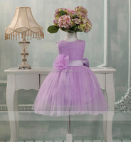 the lastest design Little girls dream princess tulle laceflower skirt