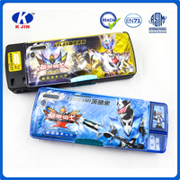 Wholesale multifunction funny advertising mechanical pencil case for kids with high quality
