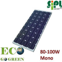 85 Watt high quality Monocrystalline Solar Panel