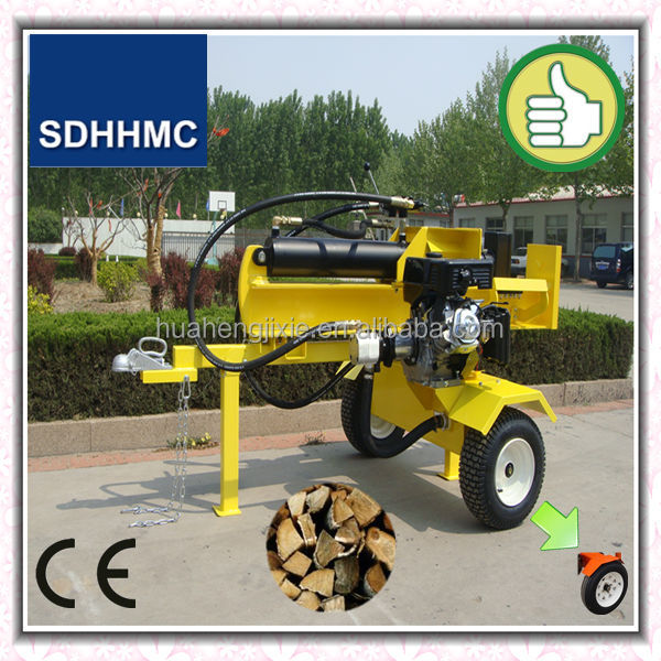 Hot Selling 37/40 Ton Used Gas Log Splitter For Tractor,Screw Type