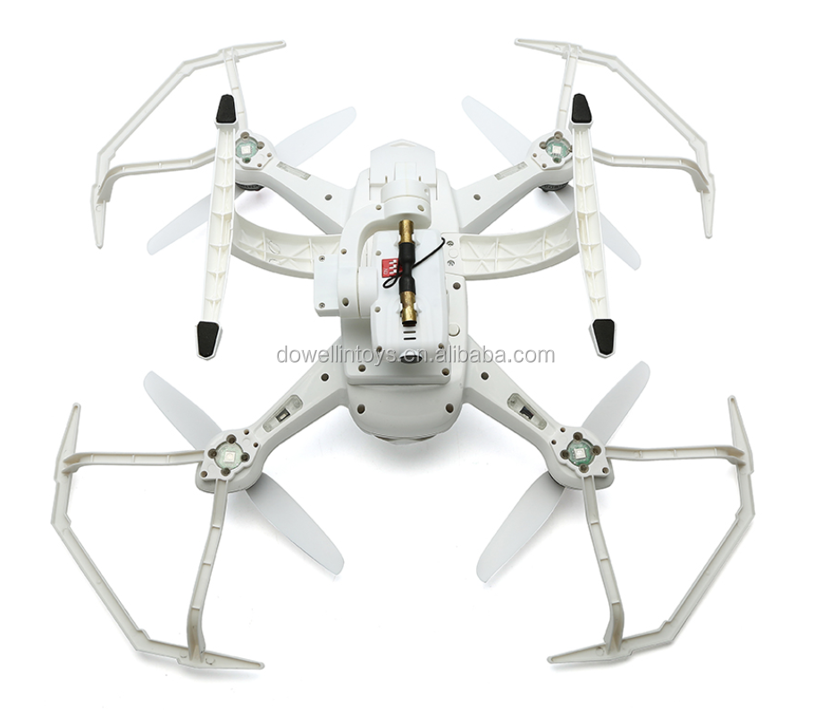 DWI Dowellin 035 250mm Brushless RC Dual GPS Drone With 5.8G FPV live video LCD Screen Follow me Drone 15 mins flight time