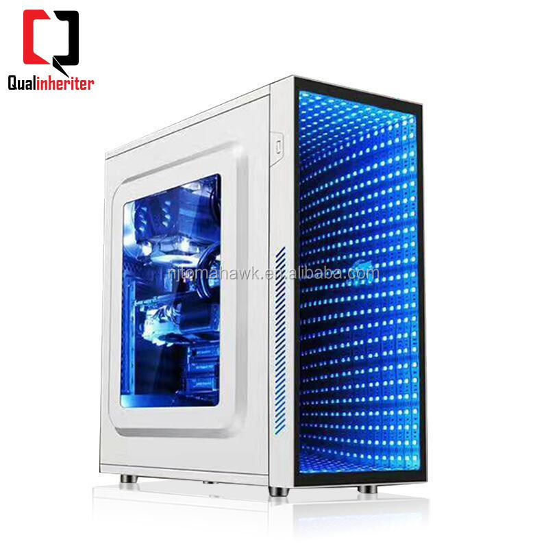 Rainbow Fashion Micro ATX Gaming Micro ATX Gaming Computer Case PC Case Cabinet