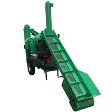 6t/h large capacity maize threshing machine with conveyor and elevator