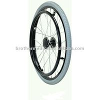 Spoke Wheel with Hand Rim for Manual Wheelchairs