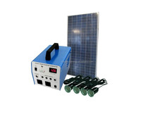 100w Solar DC/AC energy system with 300w pure sine wave inverter