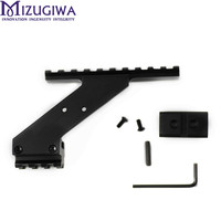 Mizugiwa Pistol Hand Gun Scope Mount for Red Dot Laser Sight Flashlight Light Laser Weaver Picatinny Glock 17 19 20 22 23 30 32