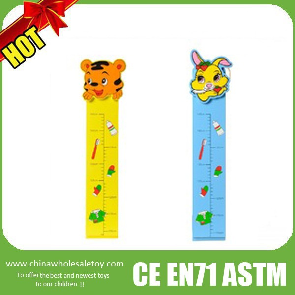 2016 kids measuring ruler,kids wooden height measure growth ruler,hot sale ruler for kids