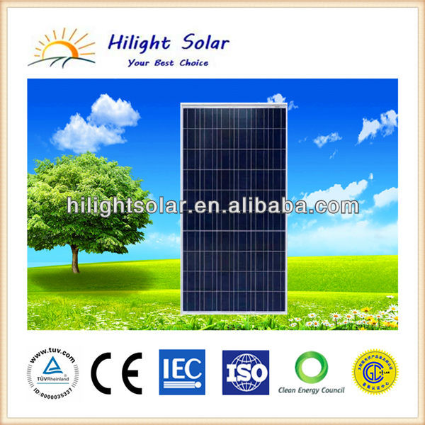 30v Mono/poly Solar Panel Price Of Solar Pv Module Manufacturer Of Solar Panel System Ce/Tuv