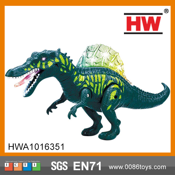 Hot sale Dinosaur with light and sound walking battery operated dinosaur toys