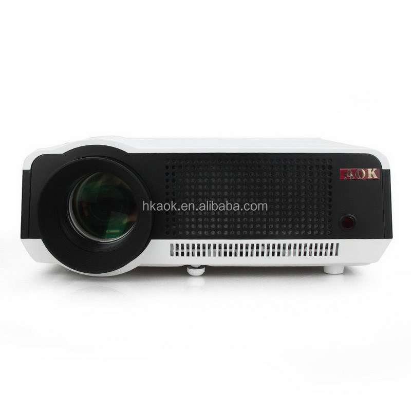 Android 4.4 HD LED Wifi Smart Projector 220W LED Lamp 3D home theater LCD Video Proyector Projektor TV Beamer