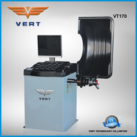 17 inch colorful LCD display wheel alignment and balancing machine VT170