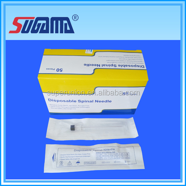 disposable lumbar puncture needle