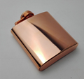 6oz 304 Stainless Steel Wine Pot Gold Whisky Flagon Hip Flask