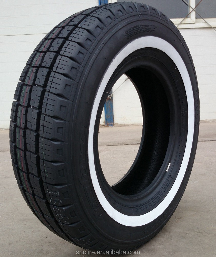 Color tires for cars made in China of COMFORSER Popular WSW 195r15c