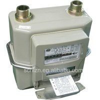 domestic gas meter diaphragm type for family and office G1.6/2.5/4