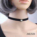 Choker Black Velvet Ribbon Gothic charm Collar Necklace Girls Classic