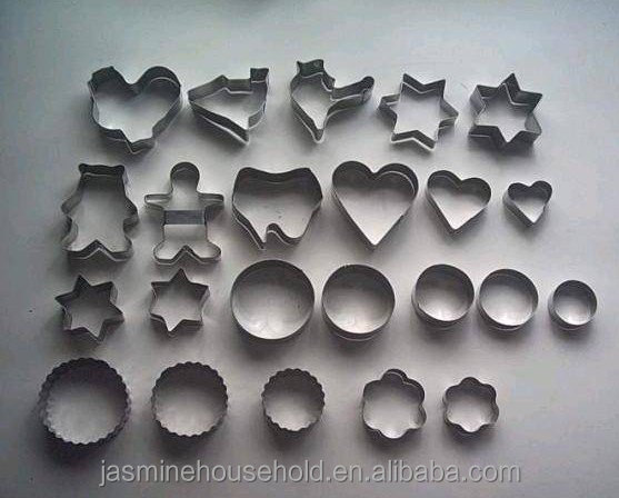 Durable Custom Stainless Steel Fondant Cake Biscuit Pastry Baking Cookies Cutter