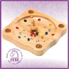 "8"" professional mini wooden roulette wheel"