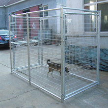 Customizable modular stainless steel dog cage