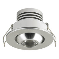 2016 new under cabinet lighting 1w mini cabinet down light