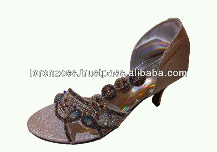 Designer Women Sandals With Embroidery