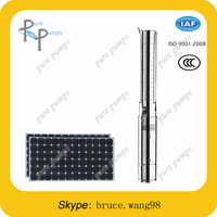 deep well solar submersible water pump for farming