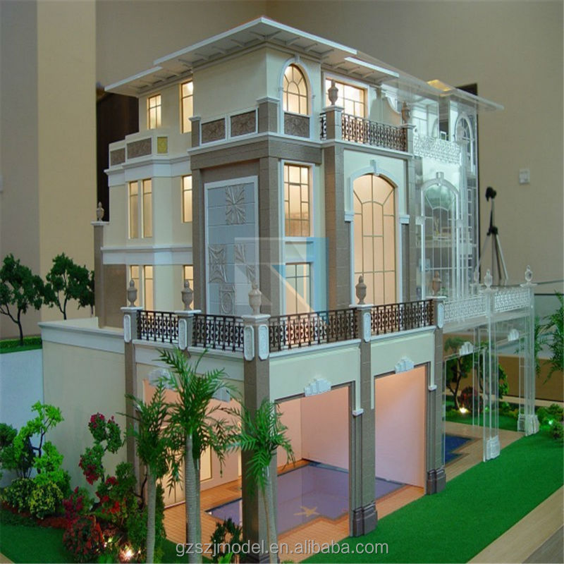 Miniatura Garden Scale Model with 3D Rendering On Construction