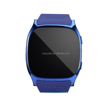 China Wholesale T8 Blue tooth With Camera Smart Watches with three color available Support SIM TF Card Sync Call Message