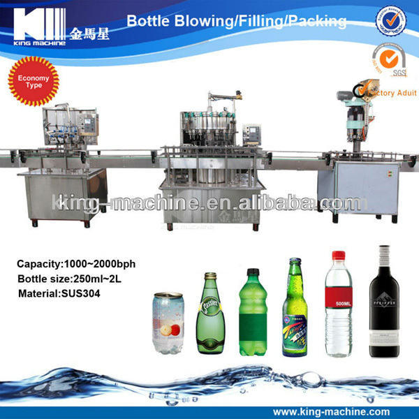 Small scale vodka / whiskey bottling equipment / bottling machinery