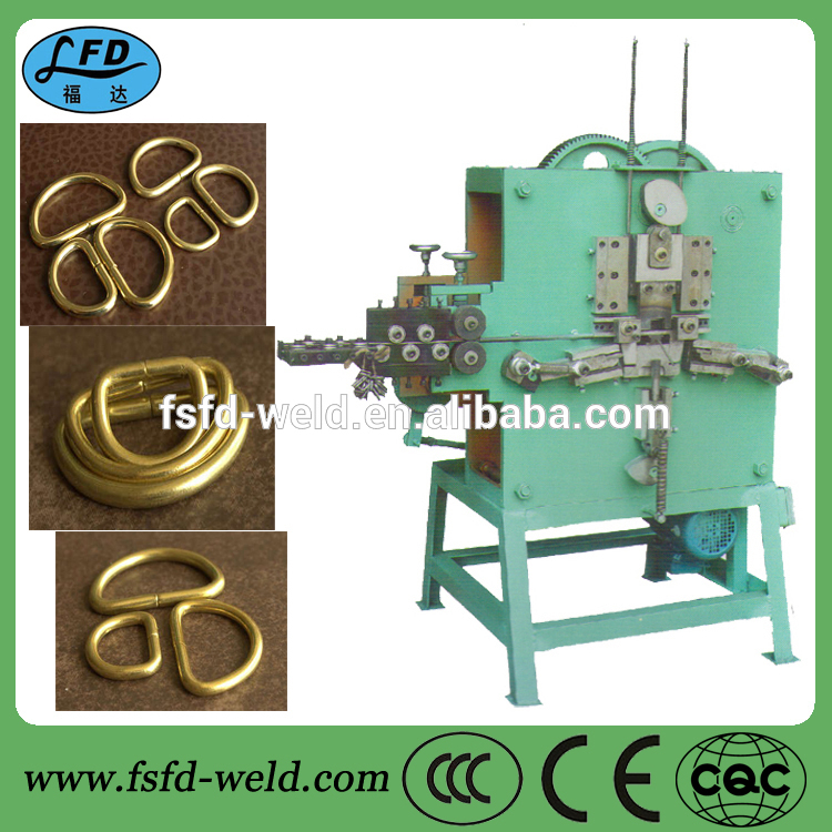 D shaped buckle bending machine cheap Metal d ring belt buckle machine