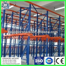 Material handling warehouse drive in pallet racking system heavy duty industrial storage equipment