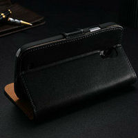 For Samsung Glaxy S4 Mini Leather Case With Stand Cover Case