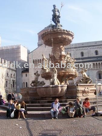 Large Square Water Fountains