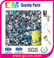 Granite effect anti-dust climate resistant construction painting