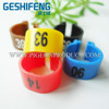 2016 Clip plastic ring with phone number,oem rubber pigeon ring tag for racing maker good ring pigeon