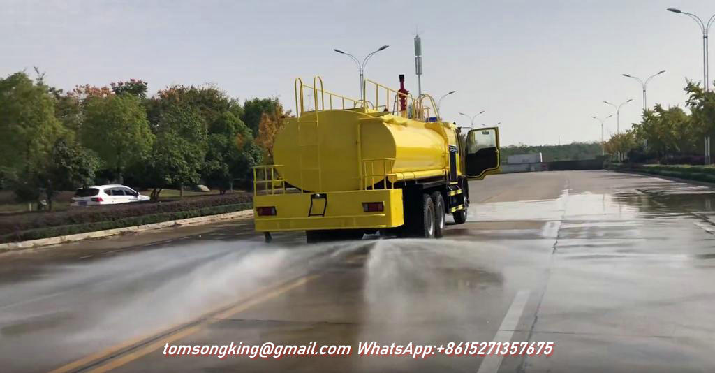 FVZ Water Tank Truck with Fire Engine Pump