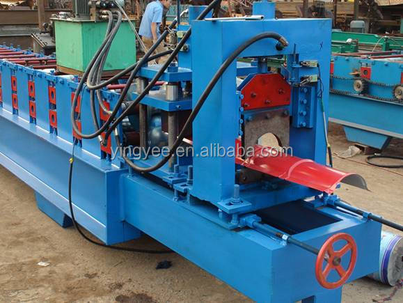 galvanized roof ridge cap roll forming machine/ridge cap