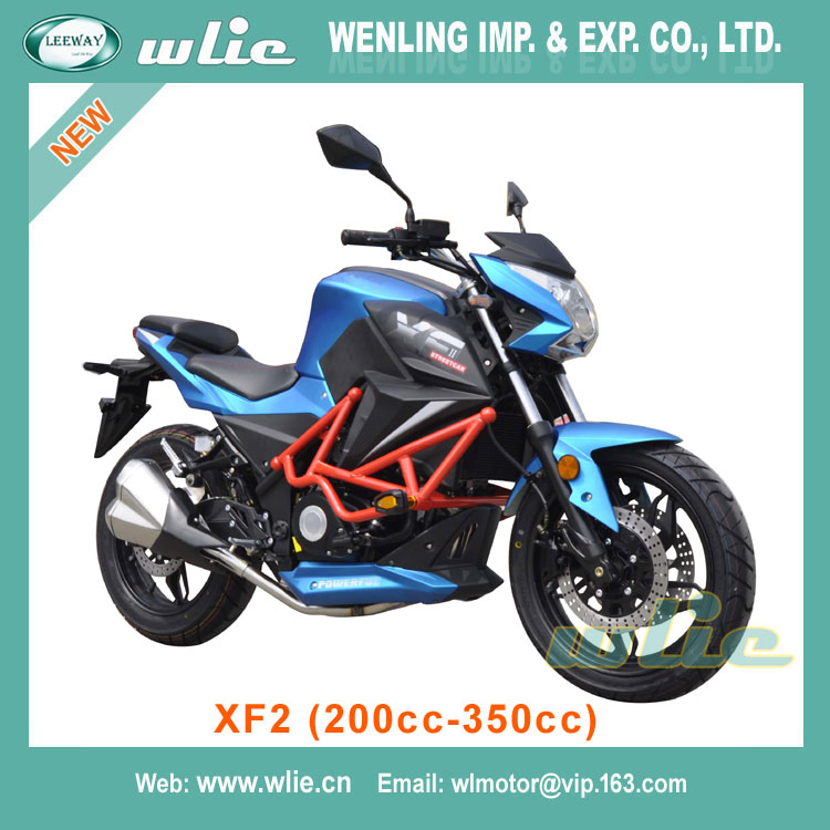 Hot Sale lifan 300cc 250cc engine leeway CHEAP street racing motorcycle XF2 (200cc, 250cc, 350cc)