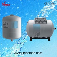 Drinking air pressure tank for water pump