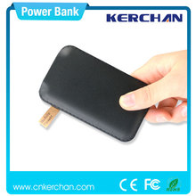 Innovative electronic products,new hot selling slim power bank made in China,pocket cellular phone power bank supply