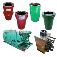 oil well drilling mud pump spare parts