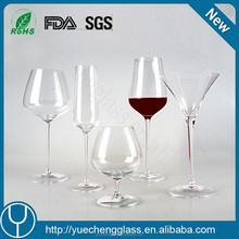 High Quality Customized Crystal Fancy Giant Red Wine Glass