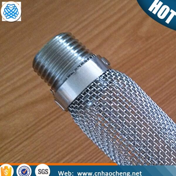 6 Inches 12 inches beer brewing equipment stainless steel mesh filter/bazooka screen