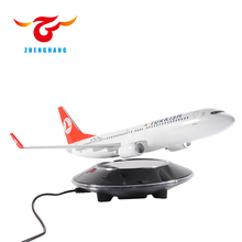 newly designed good workmanship magnetic levitation airplane model with eco friendly materials
