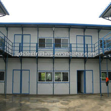 portable steel structure prefab k model house