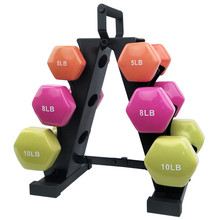 Gym equipment dumbbell rack stand fitness products