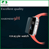 0.33mm high definition anti scratch anti-glare 2.5D 9H tempered glass for Apple watch in screen protector